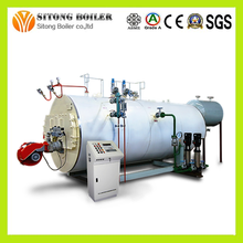 Big Combustion Space gas or oil fired 5 ton steam boiler with burner