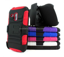 Kickstand Case Spider Case High Duty Shockproof Hard Case For Samsung Galaxy S3 Mini i8190 Cover