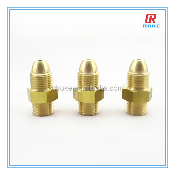Customized JIC AN male threaded brass pipe fitting