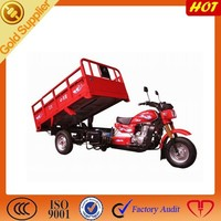 Three Wheel Motor Tricycle for Cargo with hydraulic lifter
