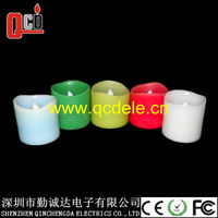 flameless led candle with timer function