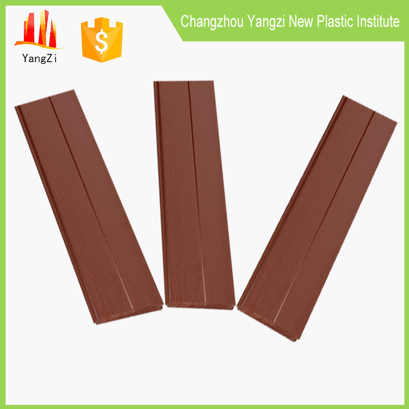 Clear wood plastic composite decking board patio decking underlay