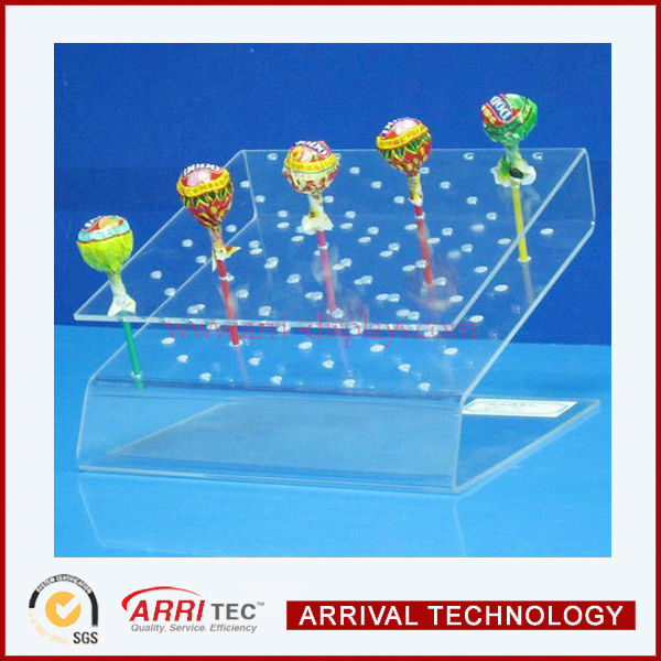 Acrylic lollipops / cake pops display stand with holes