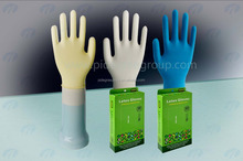 High quality latex gloves for examination