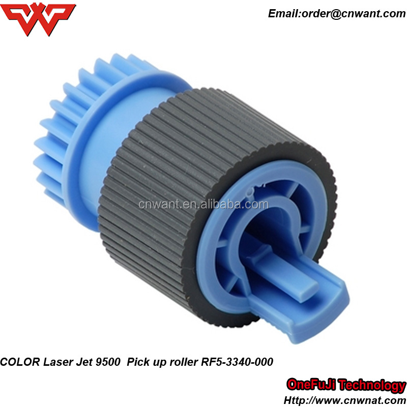 OEM Paper Pickup Roller for HP Color LaserJet 5500 5550 9000 9040 9050 9500 RF5-3338-000(2 pcs) RF5-3340-000(1pcs) Printer Parts