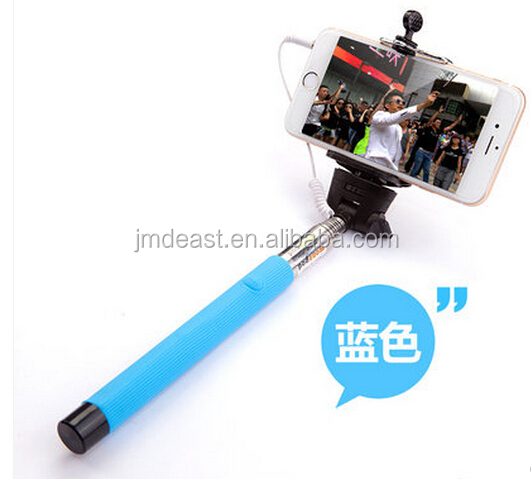 wireless self camera monopod for iphone selfie stick with bluetooth shutter b. Black Bedroom Furniture Sets. Home Design Ideas
