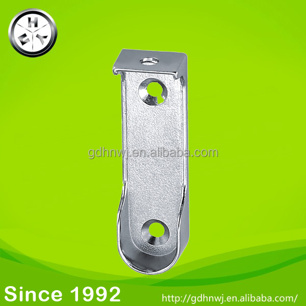 16mm Zamak chrome plated wardrobe tube support