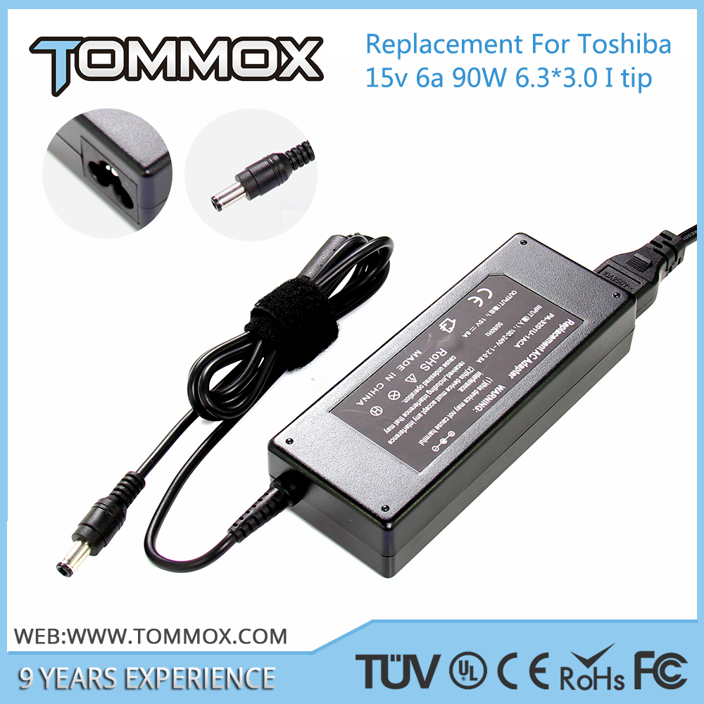 15V 6A 90W 6.3*3.0 laptop adapter PA2521U-2AC3 for TOSHIBA TECRA S1, S2, TE2000, TE2100, TE2300