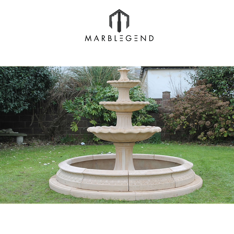 Large Garden Marble Fountain, Large Garden Marble Fountain Suppliers ...