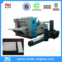 Kitchen Paper Product Type and New Condition Automatic embossed n fold towel paper machine AS-288
