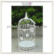 Vintage Metal Garden or Wedding Decoration Small Bird Cage