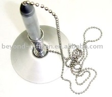 metal chain table counter pen