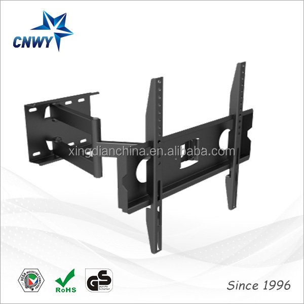 Heavy Duty Powder Coating Ultra Slim skyworth tv wall mount bracket