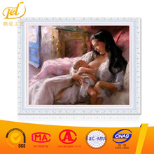 Diy Diamond Painting Nude Woman Breast-feeding Rhinestones Art&Crafts A023