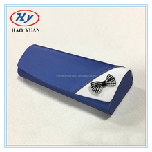 hot selling blingbling PU hard metal glasses case