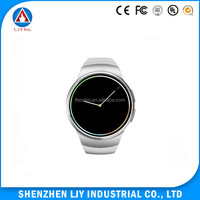 MTK2502 dual core smart watch, android 4.4 watch mobile phone with 3G, wrist watch phone android