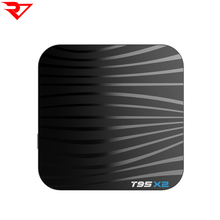 Amlogic S905X2 android 8.1 smart 4k ott tv box T95 X2 with time display <strong>system</strong>