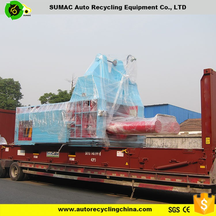 Popular type hydraulic scrap metal balers for auto recycling equipment