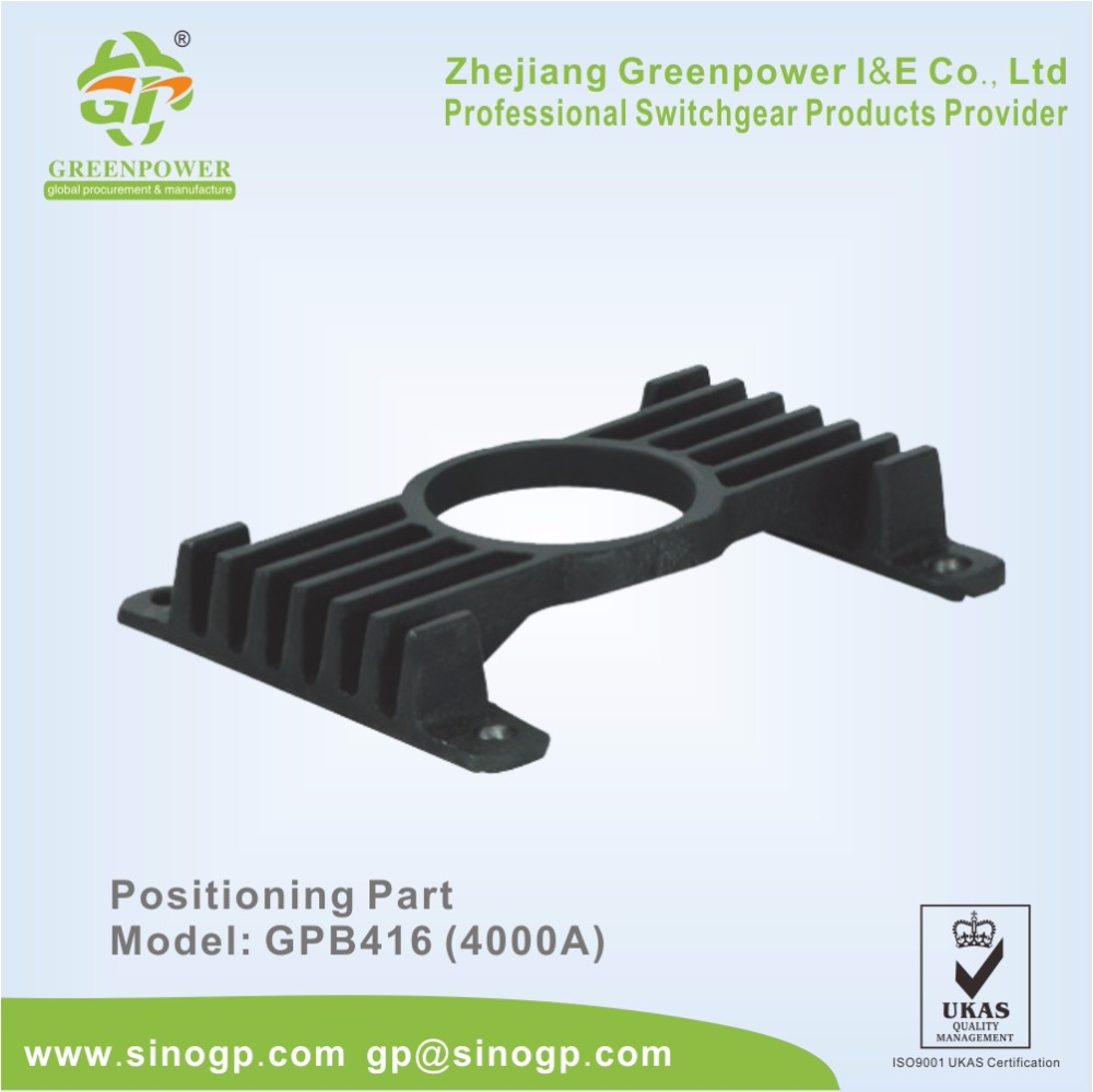 4000A Positioning Plate Positioning Part For Isolating Truck Busbar Truck