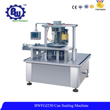 Food Beverage Automatic Cans Sealing Machine for PET/Tin/Aluminum/Paper Can