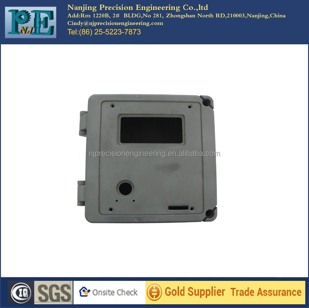 Good quality die casting aluminium gas meter box mechanical parts