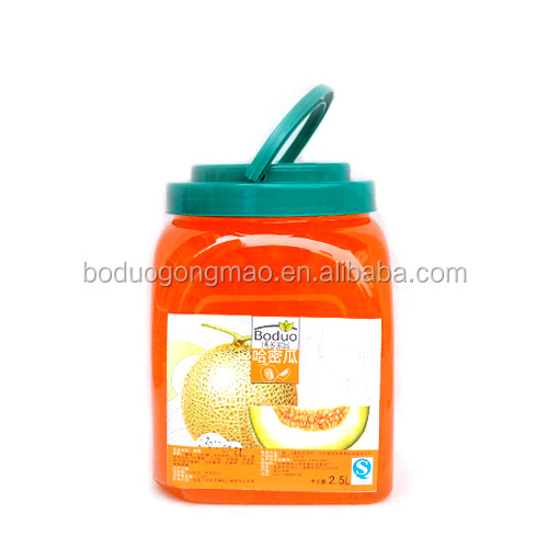 Distributor Cantaloupe Fruit Jam For Milk Tea Making