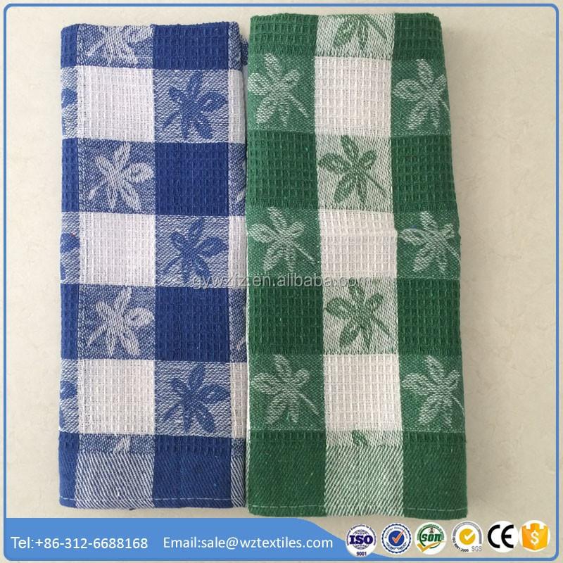 Wholesale Decorative Cotton Printed Kitchen Tea Towel