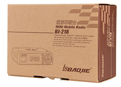 BAOJIE BJ-218 Remote monitoring mini two way radio