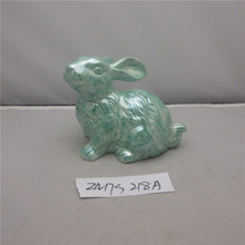 China cheap porcelain animal rabbit figurines