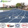 Guangzhou rubber flooring for running tracks surfacing synthetic running track with IAAF certificate