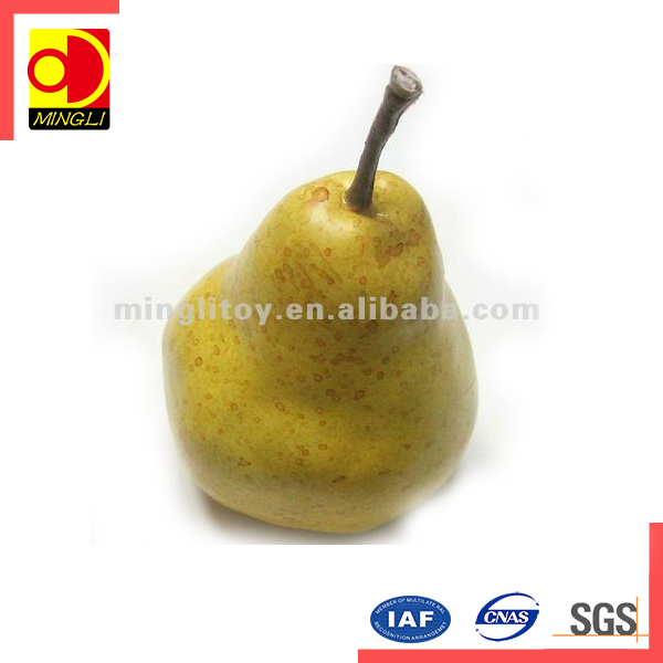 Wholesale PU artificial fruit for decoration