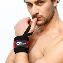 Factory supply weightlifting wrist wraps with FDA cert