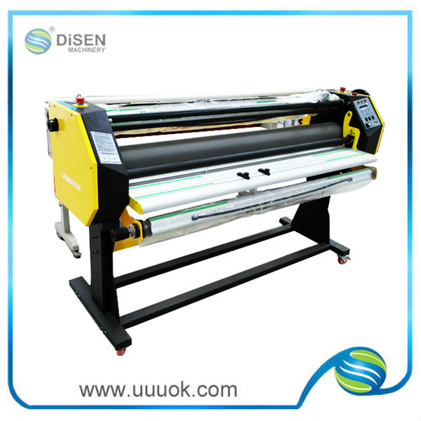 High precision hot and cold lamination machine