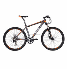 Aluminium alloy mountain bicycle model Z300, 26 inch 21 speed MTB bike, front suspension mountain bicicletas made in china,