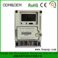 Single Phase Electronic energy meter /electricity meter / kWh meter LCD