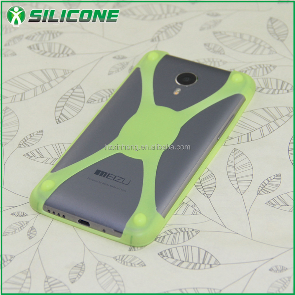 2016 china manufacture promotional gift FDA eco-friendly 3d silicone phone case