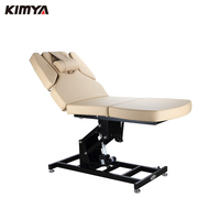 Electronic beauty salon furniture black white spa electric facial massage bed facial bed chair