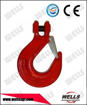 forged safety clevis hook with latch