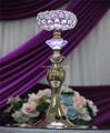 color changed crystal led wedding centerpiece stand