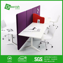 Colorful competitive acoustic panels office wall partition