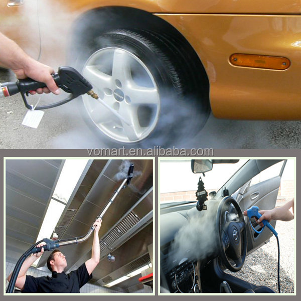 2015 CE LPG 20 bar dural pistol mobile vapor car washer/steam cleaning equipment suppliers