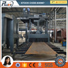 RV69 Roller Conveyor Type Shot Blasting Machine