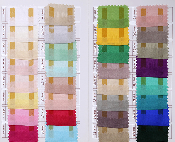New arts and crafts dyed habotai fabric silk 8mm