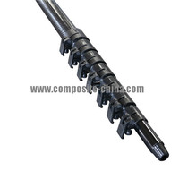 High Hardness Carbon Fiber Telescopic Pole
