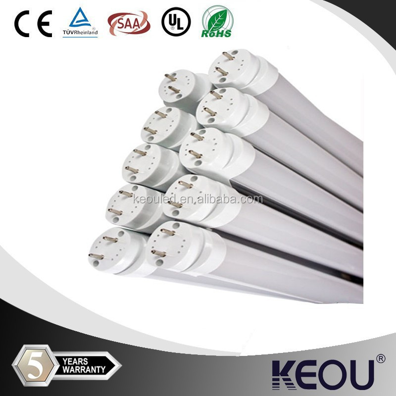 Underground Parking1200mm t8 led tube 600mm 900mm 1500mm led t8 tube lamp led tube t8 light with Motion Sensor 18W Cool White