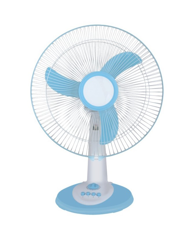 16 inch 12v solar ac dc table fan solar fan ft 40 b09 blue for 12v dc table fan price