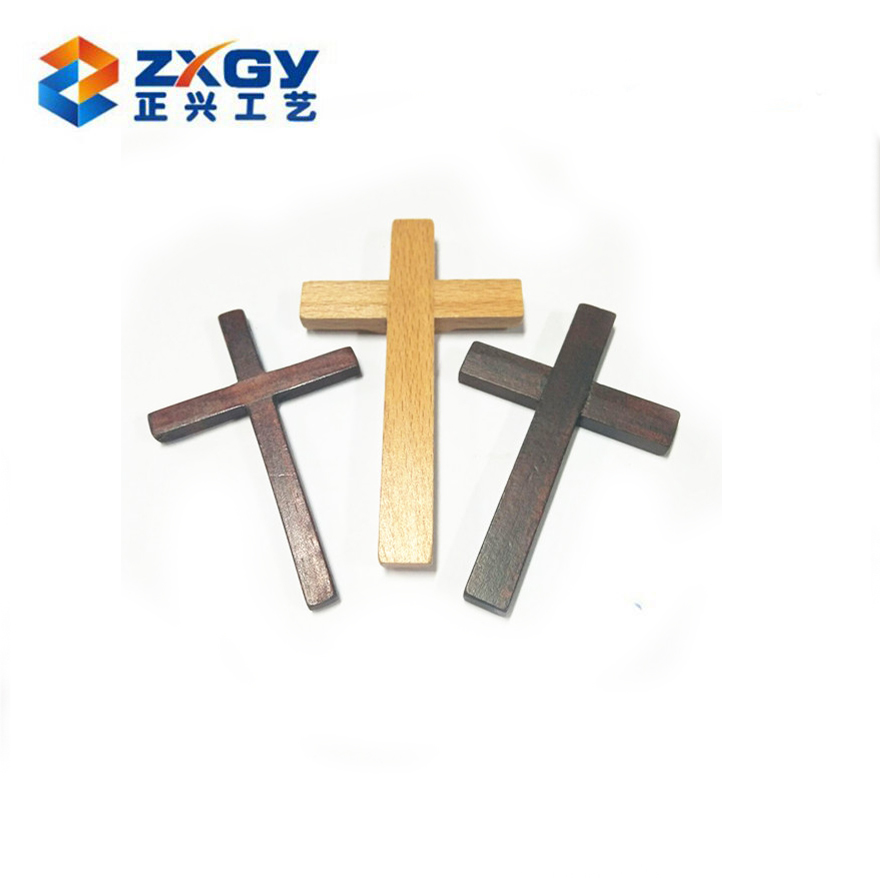 Unfinished Small Wooden Craft Cross For Church