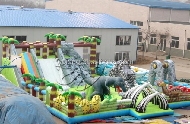 hot sale giant inflatable dry slide / big inflatable truck slide