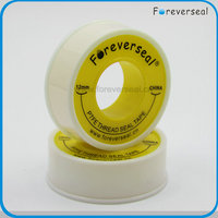 12mm width 0.1mm thickness high density yellow gas Ptfe Tape
