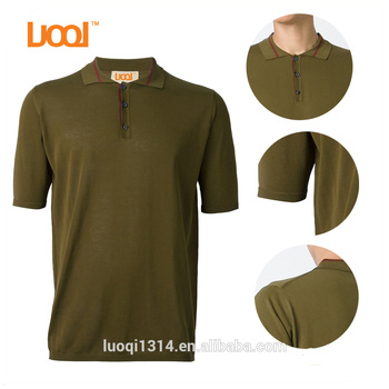 OEM Men Wholesale Short Sleeve Brand Cotton Polos shirt